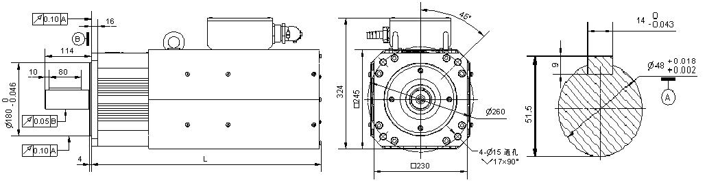 b系列 交流永磁同步电机