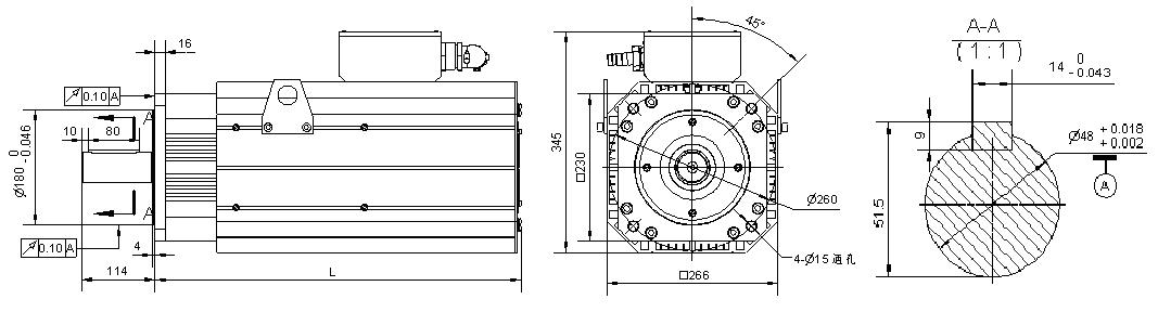 首页> 产品中心 > 液压伺服 > 伺服电机 2,190机座尺寸图