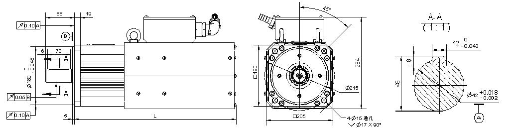 b系列 永磁同步电机